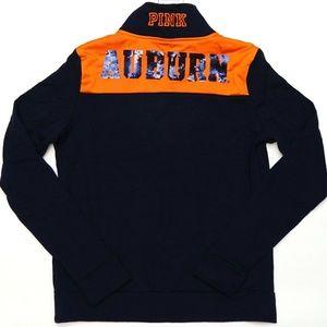 Victoria's Secret PINK Auburn Bling Ultimate Zip